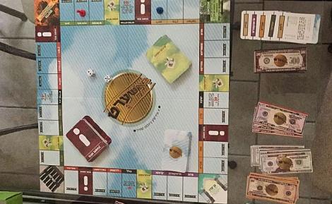 המונופול - המשחק: כסף תמורת צעקה על חייל ציוני