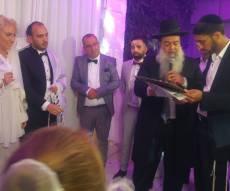 """החופה בחתונה - בברכת הרב יגאל כהן: בנו של מפקד גל""""צ התחתן"""