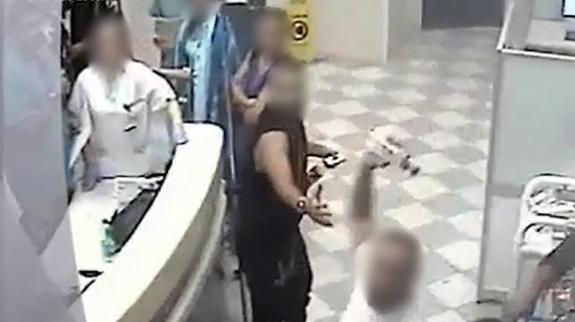 אלימות בבית החולים. ארכיון