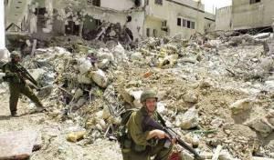 ג'נין, במבצע חומת מגן - ישראל לוקחת פלסטינים ו...ממיסה אותם