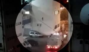ההפגנה והסירחון: המשטרה התיזה 'בואש' על בניין