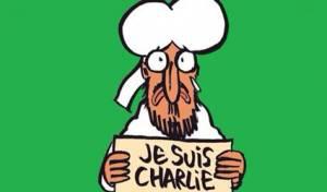קריטורה של מוחמד בשער הגיליון אחרי הפיגוע