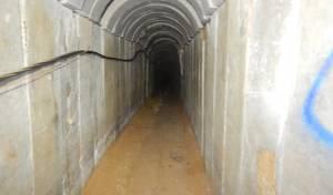 צפו: זו המנהרה שחדרה לישראל והושמדה