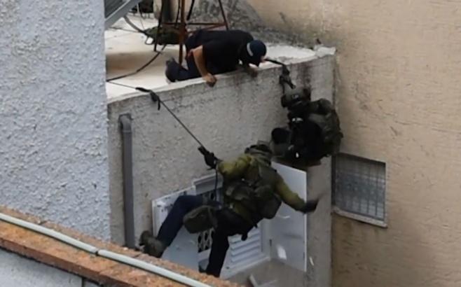 """התיעוד המשטרתי: כך לכד הימ""""מ את התוקף"""