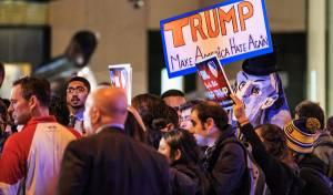 הפגנה נגד טראמפ, אחת מני רבות
