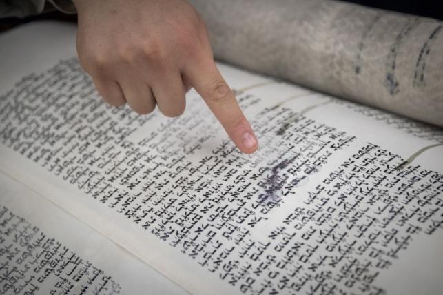 ספרי התורה שניזוקו