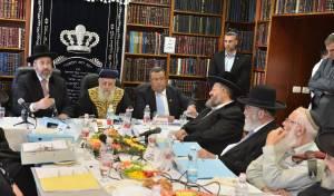 מועצת הרבנות הראשית התכנסה בבית מרן