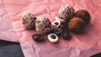 טראפלס שוקולד עם מגוון ציפויים