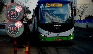 האוטובוס ומהירות הנסיעה