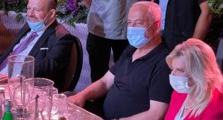 בנימין ושרה נתניהו עם דדי גראוכר
