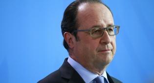 פרנסואה הולנד - הולנד הגיע לעיראק והתקבל בפיגוע טרור