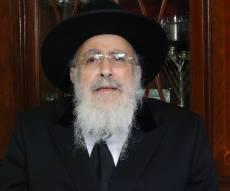 הגאון רבי שמעון אליטוב עם וורט לכבוד הפסח