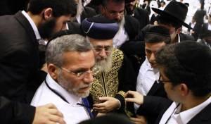 צפו: השירה האדירה בכניסת הרבנים