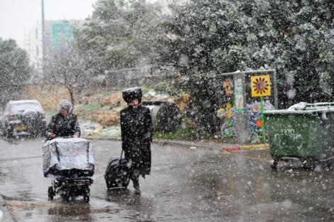 אילוסטרציה - חזאי: סיכוי לשלג בירושלים בהמשך השבוע