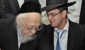 """שלמה קוק עם מרן הגרי""""ש אלישיב - רֶבֶּ'ה, רֶבֶּ'ה // שלמה קוק"""