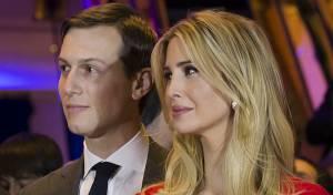הזוג טראמפ-קושנר - איוונקה תתפלל אצל הרב שמחה נגד אביה?