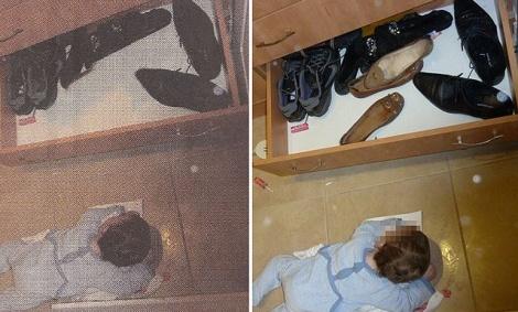 הצנזור ב'המודיע', משמאל - ב'המודיע' מצנזרים נעלי נשים