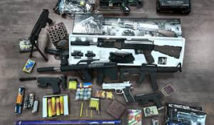 עשרות אלפי נפצים וצעצועים מסוכנים הוחרמו