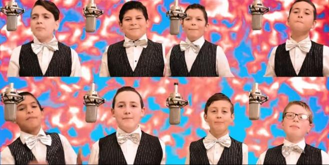 להקת פרחי ניו יורק בסינגל קליפ לחנוכה