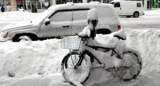 שלג בניו יורק