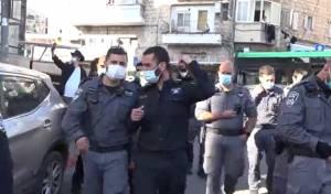 האכיפה המשטרתית היום בירושלים