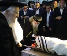 """הלווית השר לשירותי דת הרב דוד אזולאי ז""""ל"""