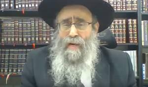 הרב גלוכובסקי מהבידוד: 'כולם תקנו תופים'