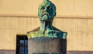 פסל של אלפרד נובל