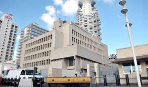 בניין השגרירות האמריקאית בתל אביב - דיווחים: השגרירות תעבור לי-ם כבר ב-2019