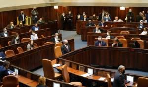 לילה דרמטי: גלריה מהדיון האחרון לפני פיזור הכנסת