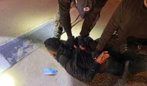 ארבעה גנבי 'מאזדה' נעצרו במחסום רנטיס