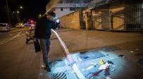 זירת פיגוע הדריסה בירושלים לפני שבועיים