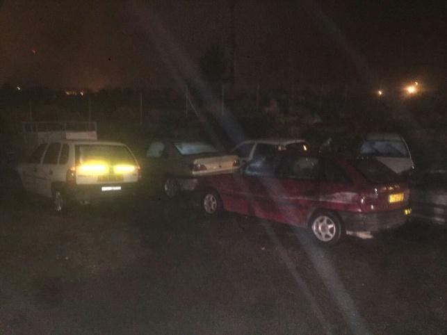 הרכבים שנתפסו בחוסאן
