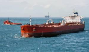 אילוסטרציה - התנגשות בין ספינת משא למיכלית איראנית