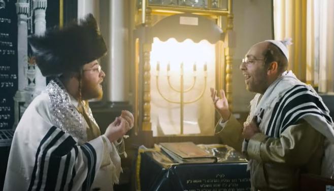 עקיבא גרומן, מלכות ואהרלה סאמט בקידוש