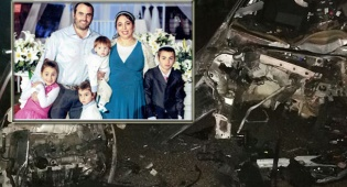 המשפחה שהתרסקה בתאונה