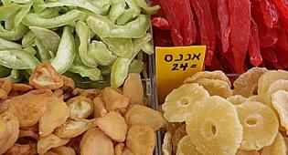 פירות יבשים (צילום: פלאש 90)