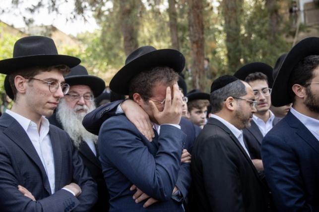 """אילוסטרציה. מהלוויתו של הבחור אברהם אמבון ז""""ל בירושלים"""