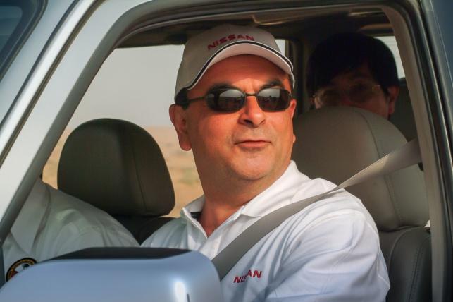 קרלס גוהן בביקור בדובאי