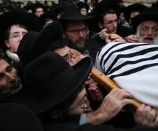 הלוויתו של זקן רבני הערים בישראל • תיעוד