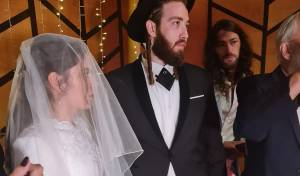 דוד נריה, בנו של הזמר שולי רנד התחתן