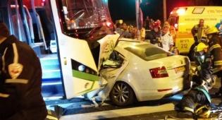 תאונה קטלנית - הקטל בכבישים גדל: 323 הרוגים ב-2016