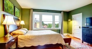 חדר עם קירות ירוקים - מה זה אומר על האישיות שלכם?