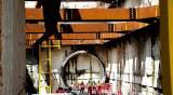 כריית מנהרה לרכבת - בני ברק: עבודות הרכבת הקלה - לא בשבת