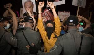 מחאה בוטה נגד נתניהו. אילוסטרציה