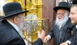 """לאורך השנים: המשגיח ז""""ל עם גדולי ישראל"""