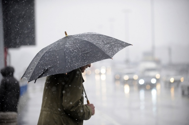 מזג האוויר סוער: קר וגשום ברוב חלקי הארץ