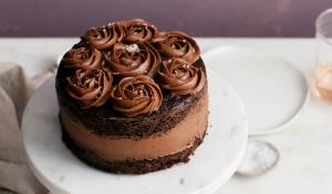 עוגת שוקולד יפהפייה בקערה אחת