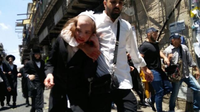 שוב בלשי משטרה מחופשים ביצעו מעצרים במאה שערים
