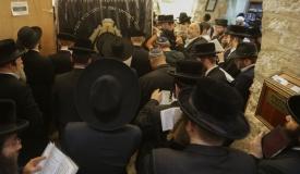 אלפים הגיעו החל מאמש לקבר רחל  • גלריה
